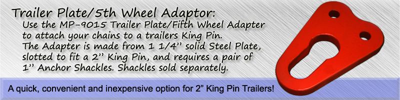 Trailer Plate/5th Wheel Adapter