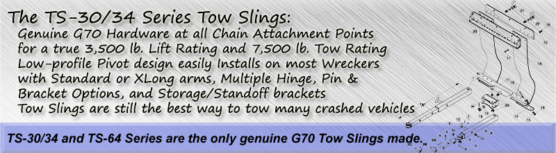 TS-30 Series Tow Slings
