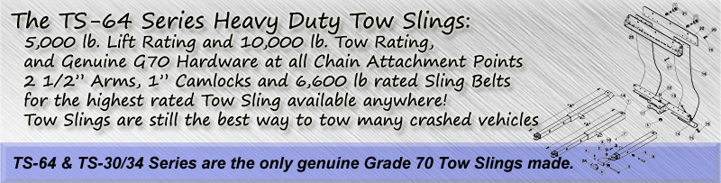 TS-64 Series Heavy Duty Tow Slings